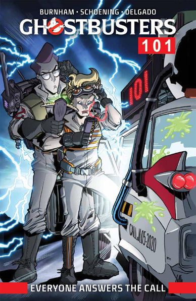 Get Ready for the Graphic Novel of 'Ghostbusters 101: Everyone Answers'