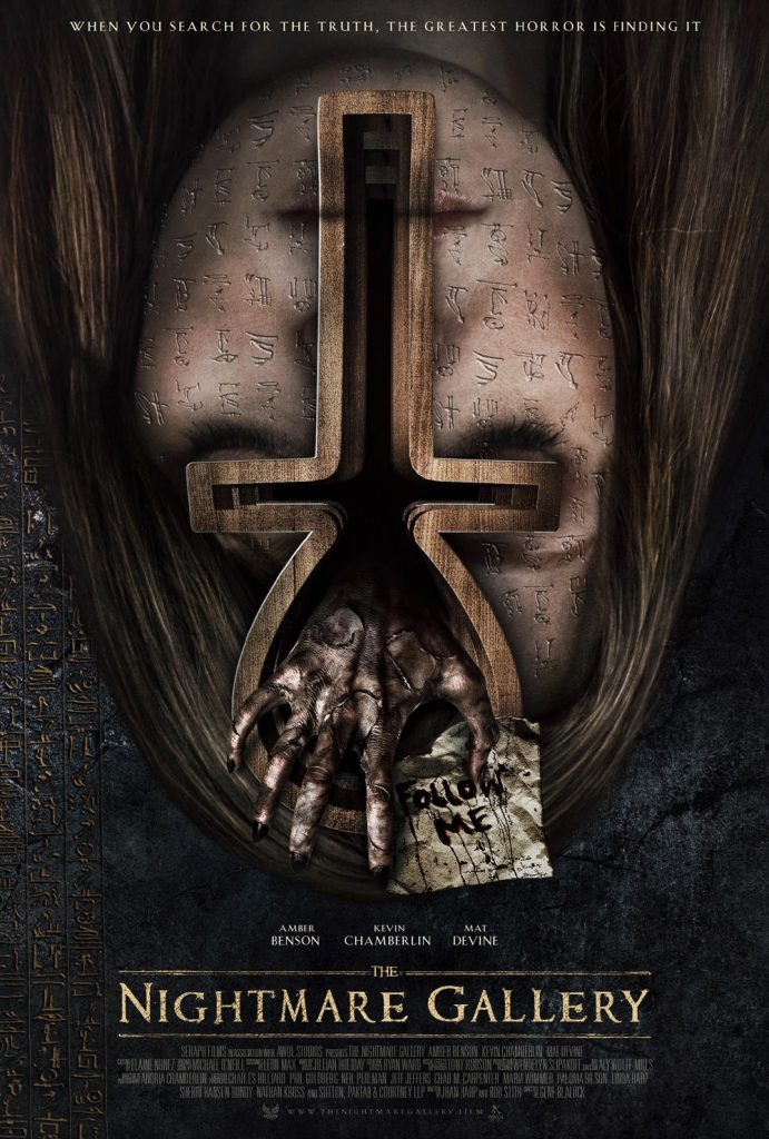 New Poster for 'The Nightmare Gallery,' Starring Amber Benson
