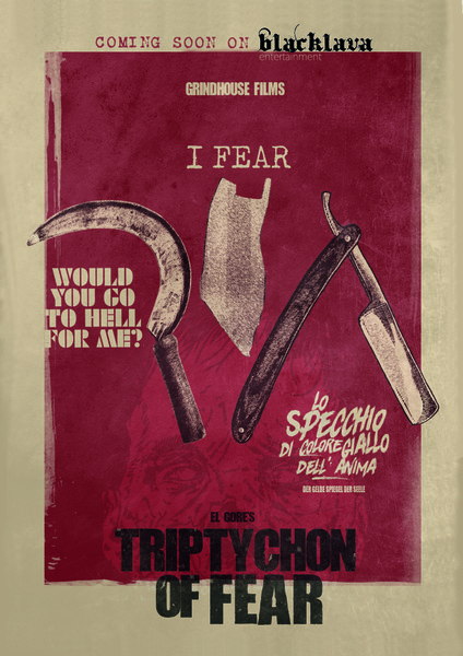 Blacklava Entertainment to Release Grindhouse Films' 'Triptychon of Fear' on DVD