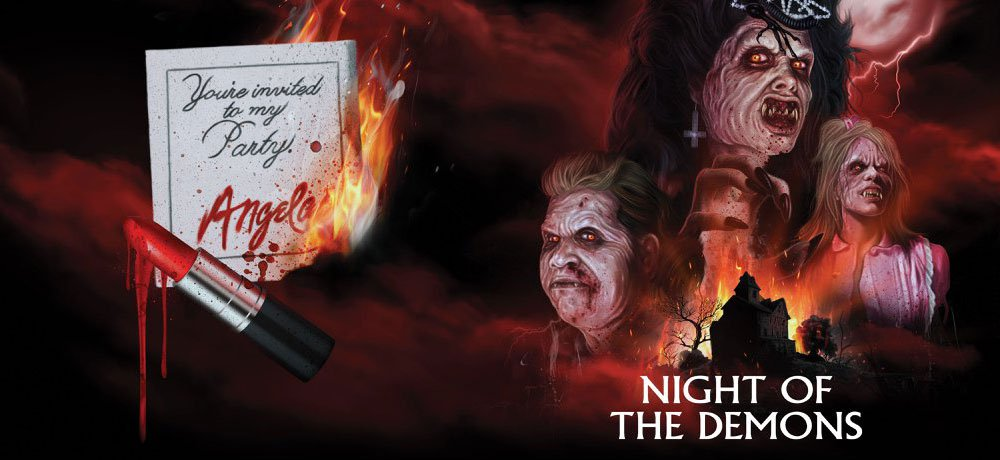 Scream Factory Announces 'Night of the Demons' Blu-ray Steelbook with New 4K Transfer AND Angela Figure from NECA