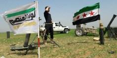 قائد عمليات لواء المعتصم: هناكقوى دولية تدعم بقاء الأسد وتسانده