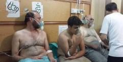 بالكلور السام.. استشهاد طفلتين وامرأة وعشرات المصابين في حي الزبدية بحلب