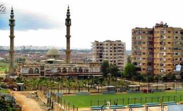 حي الوعر المحاصر في مدينة حمص – عدسة حسن الأسمر
