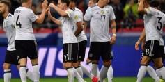 ألمانيا تتجاوز المكسيك لتلتقي تشيلي في نهائي كأس القارات