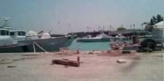 """""""تحرير الشام"""" تتبنى استهداف ميناء لقوات الأسد باللاذقية"""