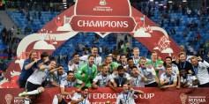 ألمانيا تتوّج بكأس القارات بعد فوزها على تشيلي بهدف