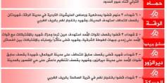 شهداء الثورة: الخميس 13-07-2017