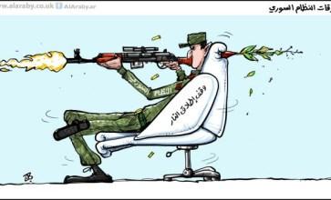 خروقات نظام الأسد للهدن – ريشة عماد حجاج