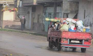 من التغريبة السورية – الحولة – ريف حمص الشمالي – عدسة بسام الرحال