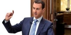بشار الأسد يخرج عن صمته ويندد بعملية عفرين