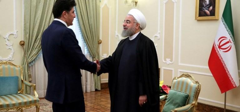 طهران تقول إنها تدعم الحوار بين بغداد وأربيل