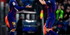 برشلونة يجتاز عقبة اسبانيول ويكمل مشواره في كأس الملك