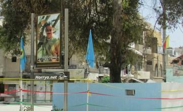 """مشاهد من أحياء مدينة حلب الخاضعة لسيطرة """"الإدارة الذاتية"""" – عدسة زياد عدوان"""