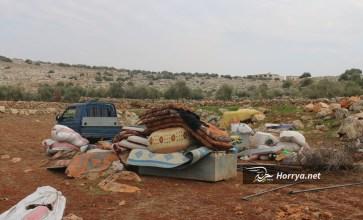 آلاف الهاربين من وحشية الأسد وبوتين في إدلب دون مأوى