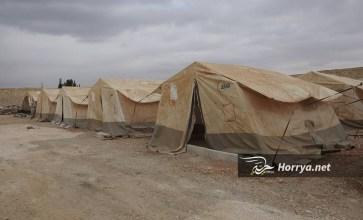 """""""محلي"""" بزاعة ينشئ مخيماً للمهجرين بمساحة 7000 متر مربع"""