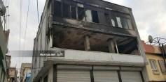 ماس كهربائي يحرق شقة للاجئين سوريين في غازي عنتاب