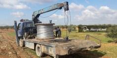 ورشات تصليح الكهرباء تبدأ عملها بريف حمص الشمالي