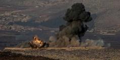 تركيا تطلق عمليتها العسكرية في عفرين