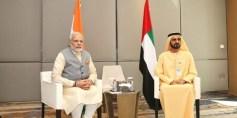 رئيس وزراء الهند يكشف عن نموذج أول معبد هندوسي في الإمارات
