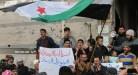 """مظاهرات ضد """"تحرير الشام"""" وروسيا في مدينة الرستن"""