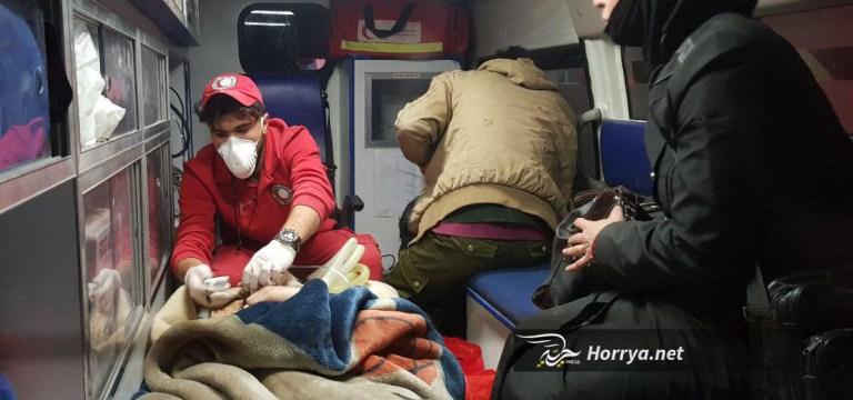 بدء إجلاء الجرحى من زملكا وعربين في الغوطة