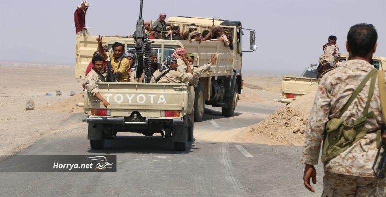 الجيش اليمني يسيطر على مواقع استراتيجية في تعز والبيضاء