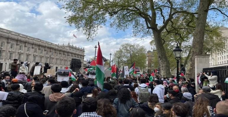 الداخلية الفرنسية تطلب حظر مظاهرة مؤيدة للفلسطينيين في باريس