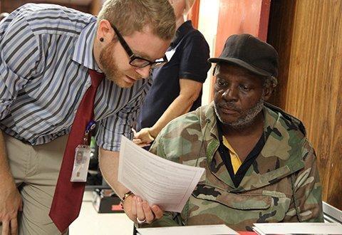 Assisting a Veteran