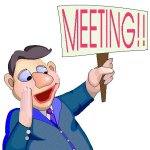 It's meeting time