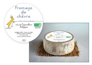 Fromage de chèvre // Étiquette