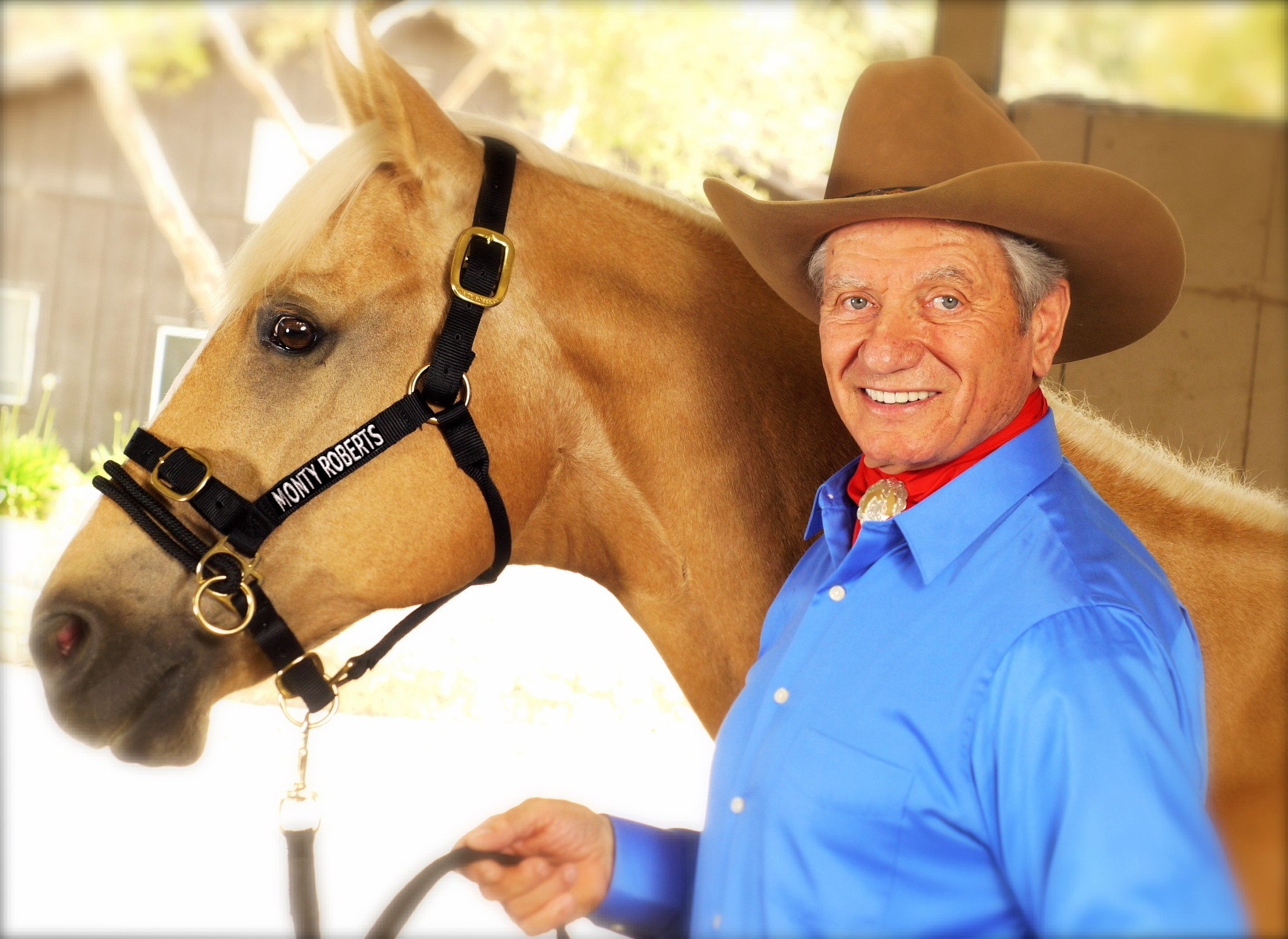 Monty Roberts – the man who listens to horses