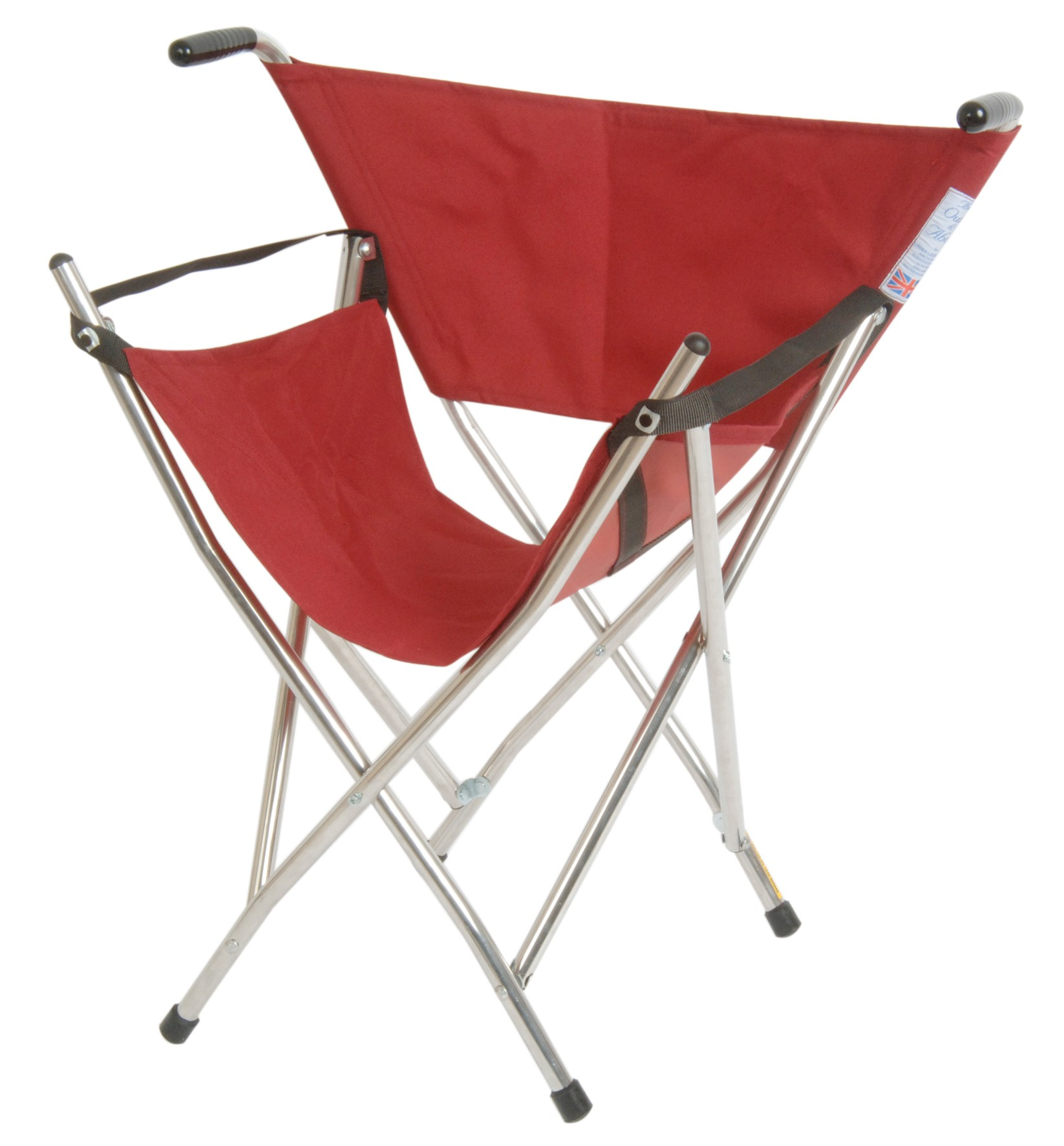 Walking Chair Classic Canes Out And About Folding Seat Burgundy