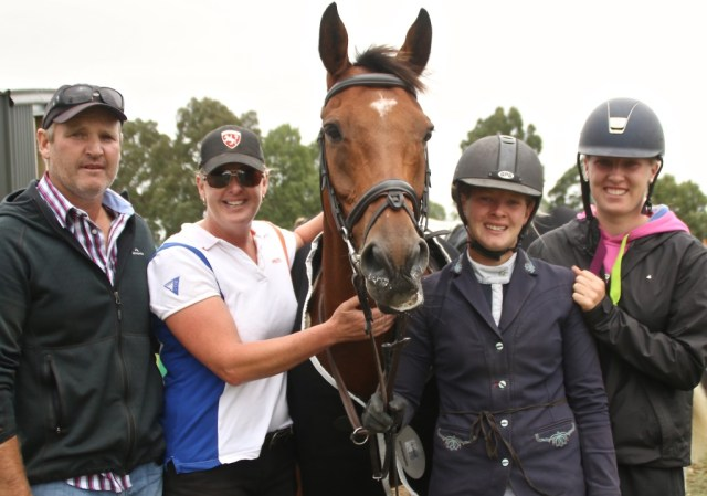 The Carson family had a great show and enjoyed their first trip with horses to the South Island