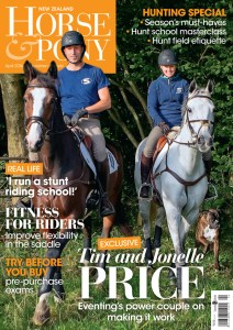 Tim, Jonelle and Tonka Price feature on this month's cover