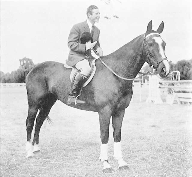 Adrian White and Telebrae, our first Olympic combination, represented New Zealand in Rome in 1960