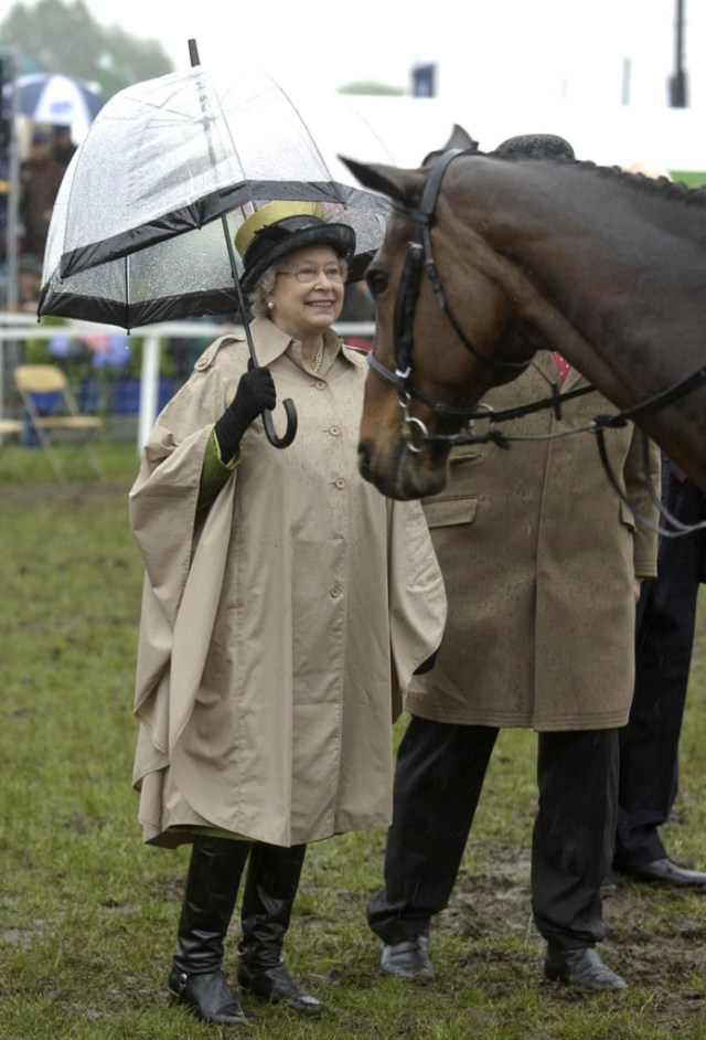 Queen at Royal Windsor Horse Show