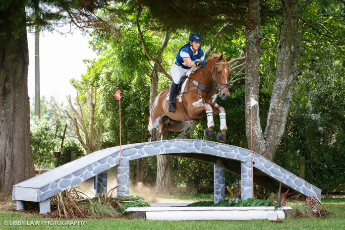 Katharine Van Tuyl and Sunny: confident (Image: Libby Law)