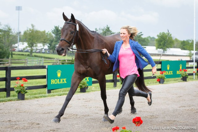 Canada's Jessica Phoenix and A Little Romance (Image: Libby Law)