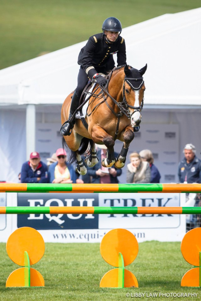FRA-Thibaut Vallette (QING DU BRIOT) FINAL-2ND: Event Rider Masters CIC3* SHOWJUMPING: 2016 GBR-Dodson and Horrell Chatsworth International Horse Trial (Sunday 15 May) CREDIT: Libby Law COPYRIGHT: LIBBY LAW PHOTOGRAPHY