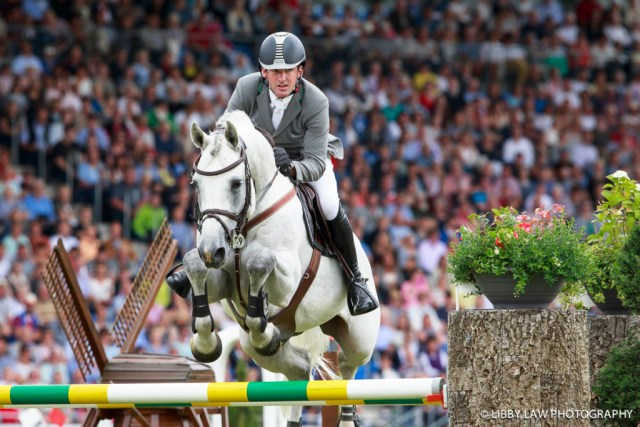2016 TITLE WINNER: GER-Phillip Weishaupt (LB CONVALL) FINAL-1ST: ROLEX GRAND PRIX: 2016 GER-CHIO Aachen: Weltfest des Pferdesports (Sunday 17 July) CREDIT: Libby Law COPYRIGHT: LIBBY LAW PHOTOGRAPHY
