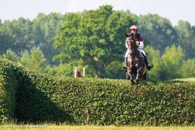 Blyth Tait (Leo Distinction) was sixth (Image: Libby Law) at Aston Le Walls