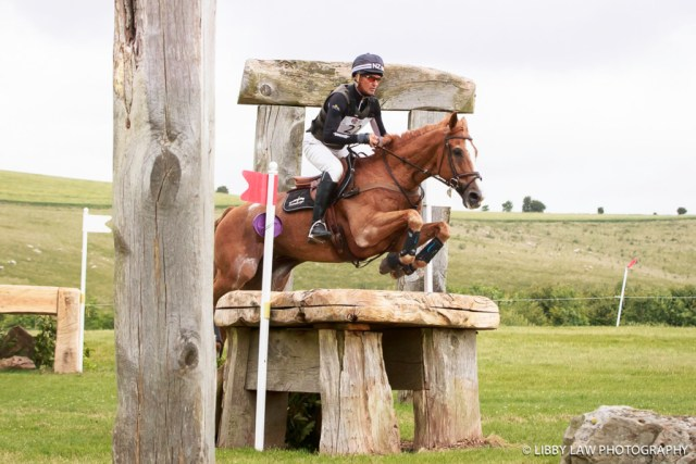 Andrew Nicholson and Nereo look very much at home. (Image: Libby Law)