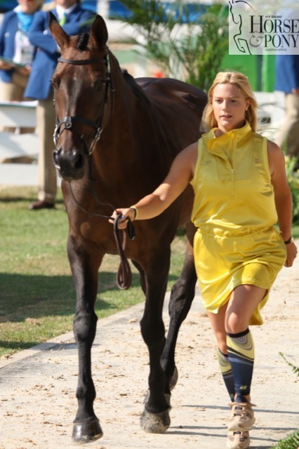 Swedish rider Frida Andersen and Herta (Image: Jane Thompson)