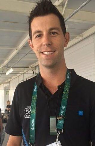Clarke Johnstone loves the pounamu he received from NZOC