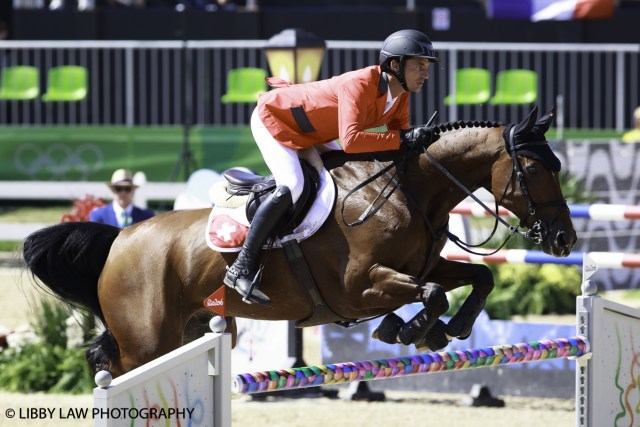 Steve Guerdat and Nino Des Buissonnets - on track for another gold but it's early days yet! (Image; Libby Law)