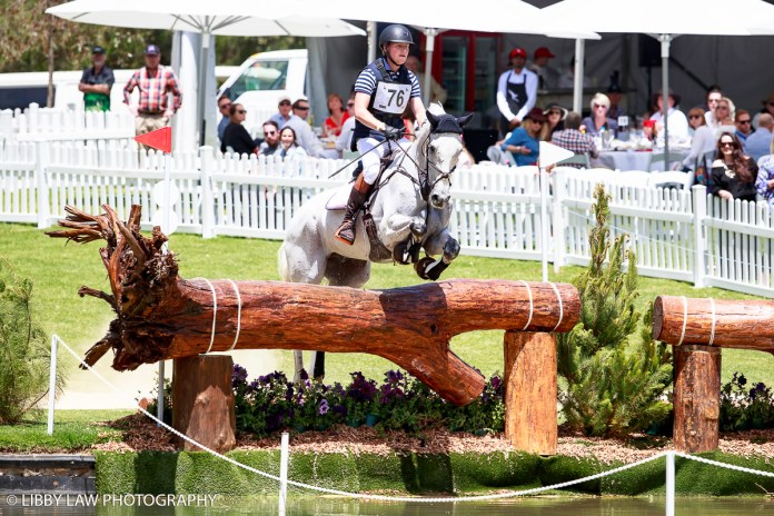 AUS-Andrew Cooper rides Evergem Perfection (Interim-3RD) during the CCI4* Cross Country. 2016 AUS-Australian International 3DE. Saturday 5 November. Photo Copyright: Libby Law Photography