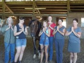 What a wonderful group of humans and horses!