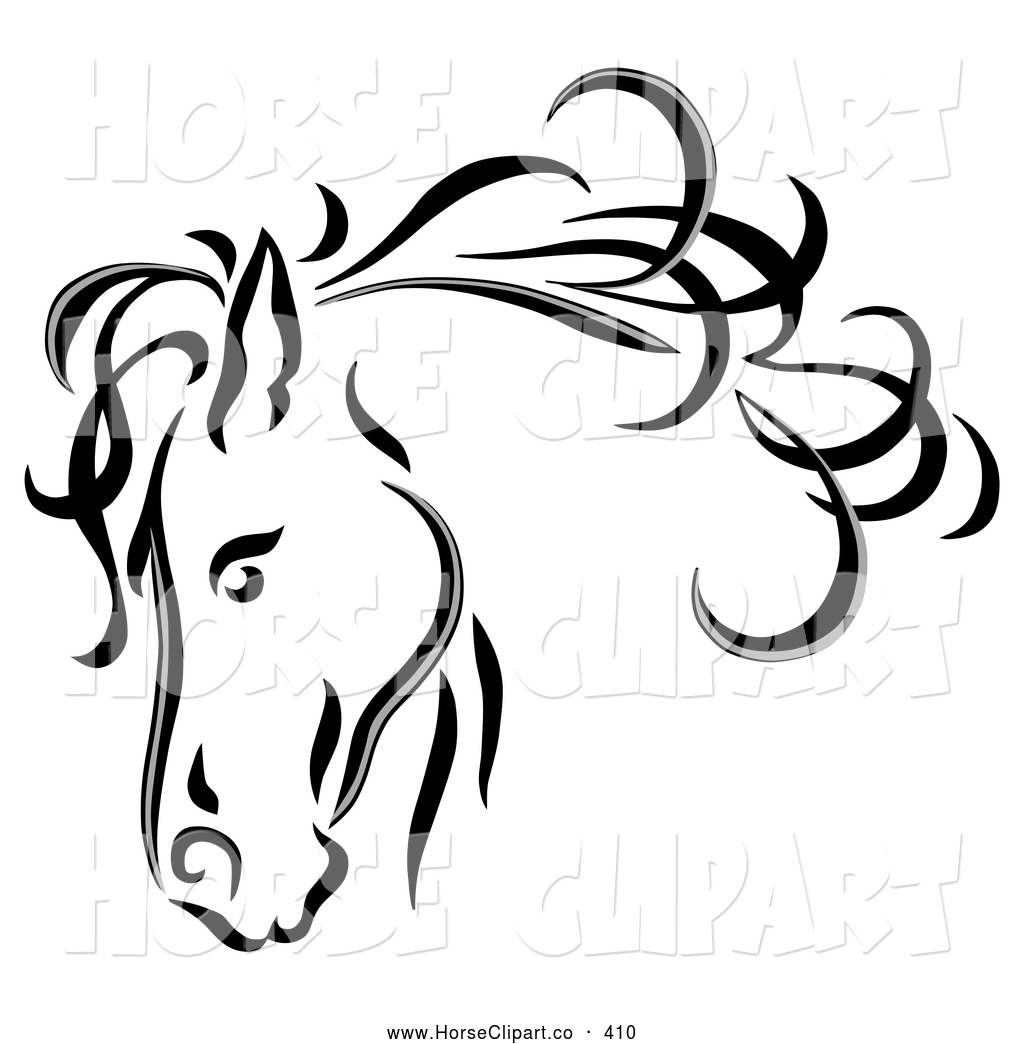Royalty Free Equine Stock Horse Designs