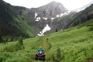 Trail on the 4th Annual ATV Poker Run