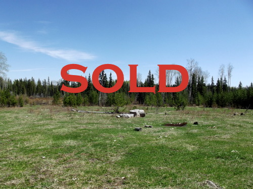 SOLD! 40 acres with creek and services